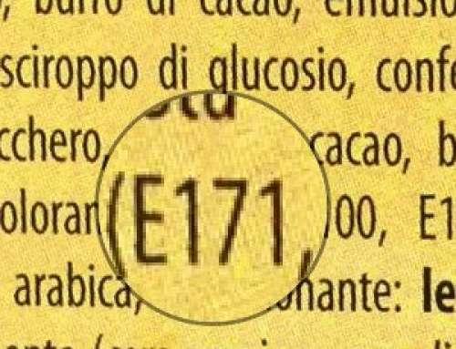 OCCHIO ALL'ETICHETTA: POTREBBE ESSERCI  IL COLORANTE E171
